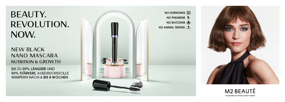 M2 Beauté New Black Nano Mascara