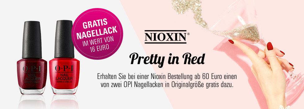 Pretty in Red Nioxin