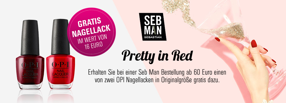 Pretty in Red SEB Man