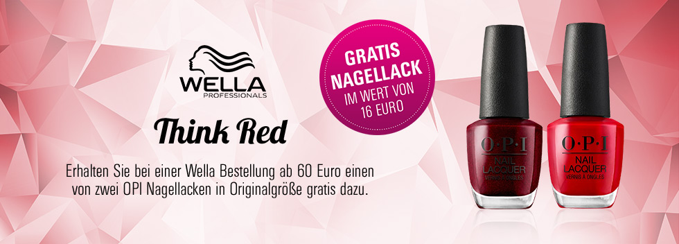 Think Red Wella