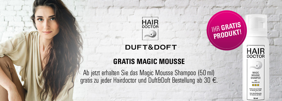 Hair Doctor gratis Mousse