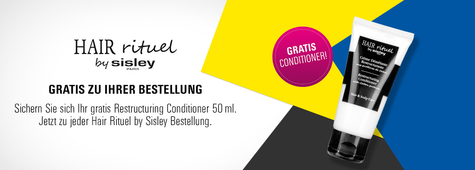 HairRitual by Sisley gratis Conditioner
