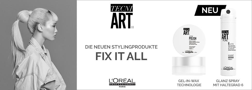 L'Oréal Professionnel Tecni.Art Neuheiten