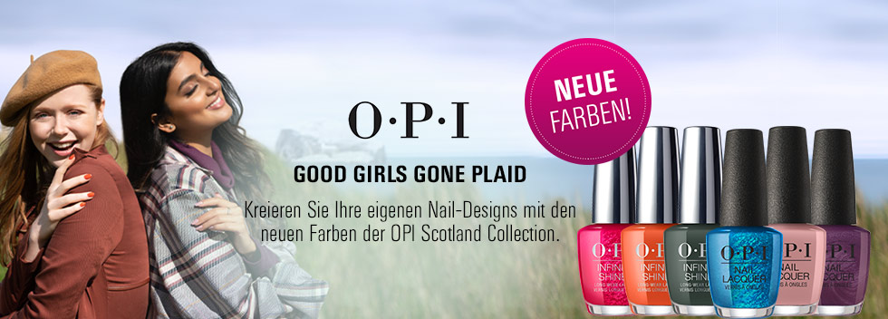 OPI Scotland Collection