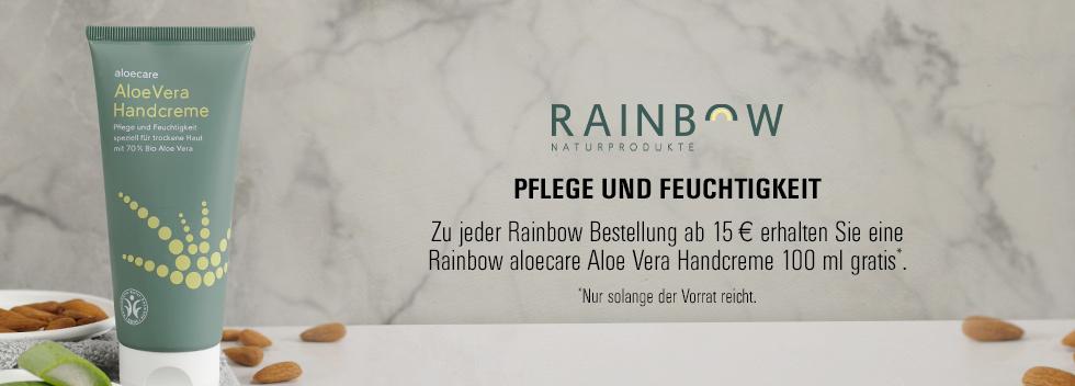 Rainbow gratis Handcreme