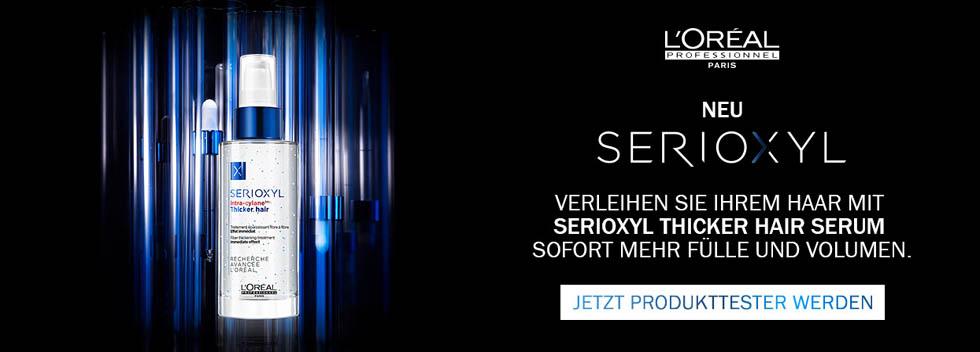 L'Oréal Serioxyl Produkttester
