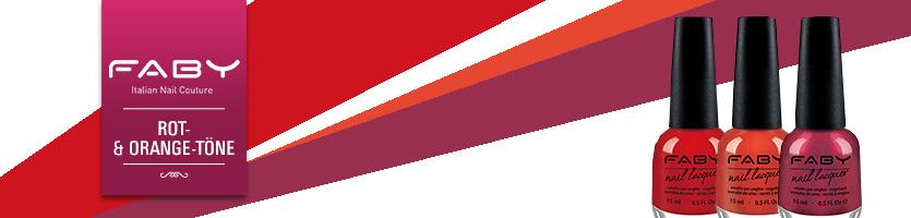FABY Rot- & Orange-Töne