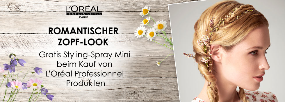 L'Oréal Romantischer Wiesn Look 2019