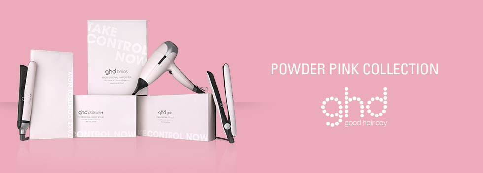 GHD Germany Powder Pink Collection