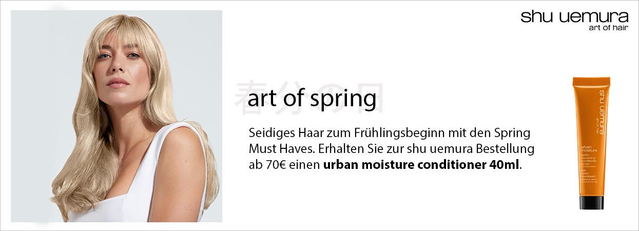 Shu Uemura art of spring