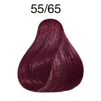 Wella Koleston Vibrant Reds 55/65 hellbraun-intensiv violett-mahagoni