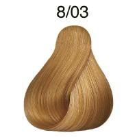 Wella Koleston Pure Naturals Blondes 8/03 hellblond natur-gold 60 ml