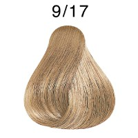 Wella Koleston Rich Naturals 9/17 lichtblond asch-braun 60 ml
