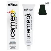 Cameo Color Haarfarbe 0/28 grün 60 ml