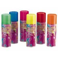 Comair Hair Color Farbspray Fluo rot 125 ml