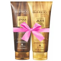 Alterna Bamboo Smooth Anti-Frizz AM/PM Duopack 2 x 150 ml
