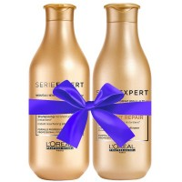 L'Oréal Professionnel Série Expert Absolut Repair Lipidium Instant Reconstructing Shampoo + Conditioner
