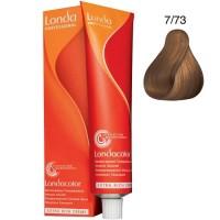 Londa Demi-Permanent Color Creme 7/73 Mittelblond Braun-Gold 60 ml