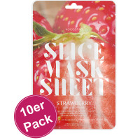 Kocostar Slice Mask Sheet Strawberry 10er Pack
