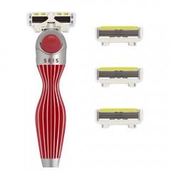 Shave-Lab Starter Set SEIS Rouge P.L.6 WOMEN - Valentinstagsedition