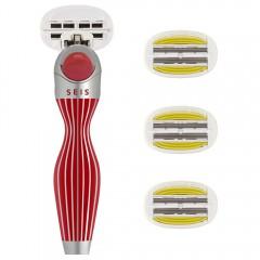 Shave-Lab Starter Set SEIS Rouge P.L.6+ WOMEN