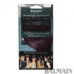 Balmain Clip Tape Extensions 15 cm Blackberry;Balmain Clip Tape Extensions 15 cm Blackberry