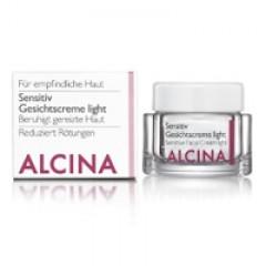 Alcina Sensitiv Gesichtscreme light