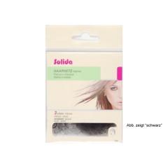 Solida Haarnetz mit Rundgummi grau