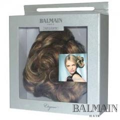 Balmain Elegance Bordeaux  Curl Clip short  Warm Caramel;Balmain Elegance Bordeaux  Curl Clip short  Warm Caramel