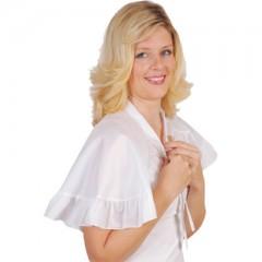 Solida Frisierumhang chic & elegant weiß