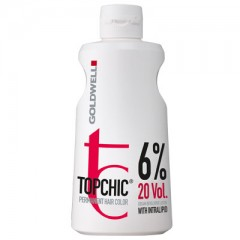 Goldwell Topchic Cream Developer Lotion 6% 1000 ml