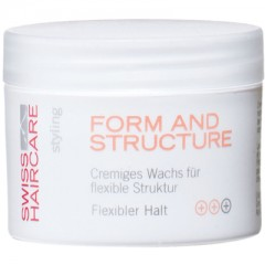 Swiss Haircare Form & Structure Creme-Wachs