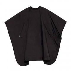 TREND DESIGN NANO Compact Uni Färbeumhang mit Druckverschluss Schwarz