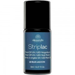 alessandro International Striplac 60 Blue Lagoon 8 ml