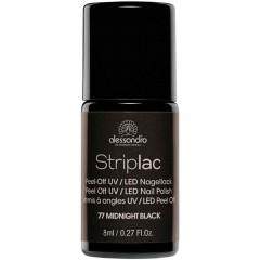 alessandro International Striplac 77 Midnight Black 8 ml
