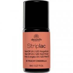 alessandro International Striplac 81 Peachy Cinderella 8 ml