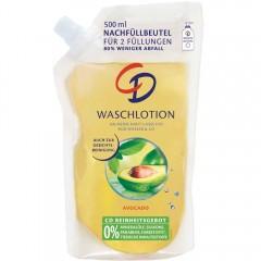 CD Waschlotion Avocado Nachfüllbeutel 500 ml
