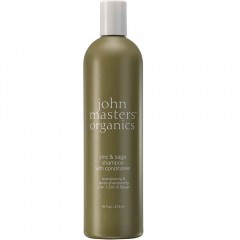 john masters organics Zinc & Sage Shampoo mit Conditioner 473 ml