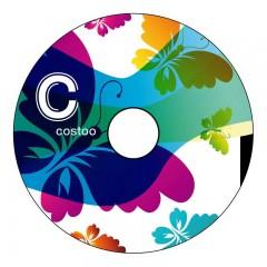 Costoo Happygrip Butterfly/Flowerprint 1 Stück