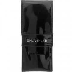Shave-Lab Reiseetui Black Klavier-Lack Canvas