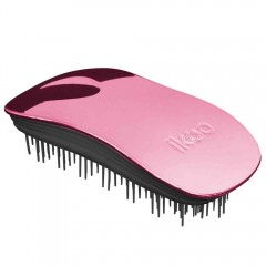 ikoo brush HOME black - rose metallic