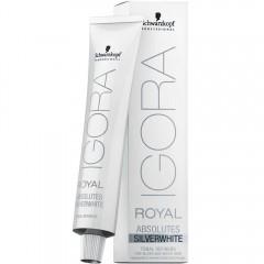 Schwarzkopf Igora Royal Absolute SilverWhite Tonal Refiner Grau/Lila 60 ml