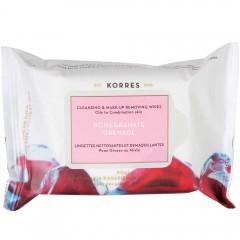 Korres Pomegranate Reinigungstücher 25 Stk