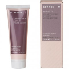Korres Velvet Orris / Violet Body Milk 125 ml
