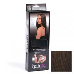Hairdo Haarteil Clip in Straight Extension R4 Midnight Brown 55 cm