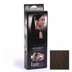 Hairdo Simply Straight Pony R4 Midnight Brown 45 cm