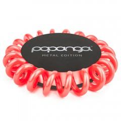 "Papanga Haargummi Metallic Coral ""Small"""