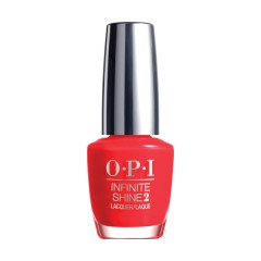OPI Infinite Shine Unrepantantly Red Nagellack 15 ml
