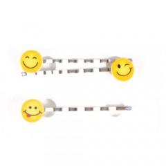 Solida Haarklemme Emoji Smile 3 Stück