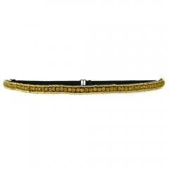 Tassel Bond Headband Gold